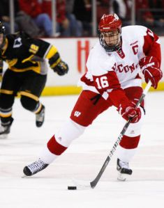 Sean Dolan captained the Wisconsin Badgers during his senior year of college.