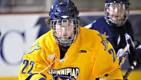 David Marshall as a member of the Quinnipiac Bobcats.