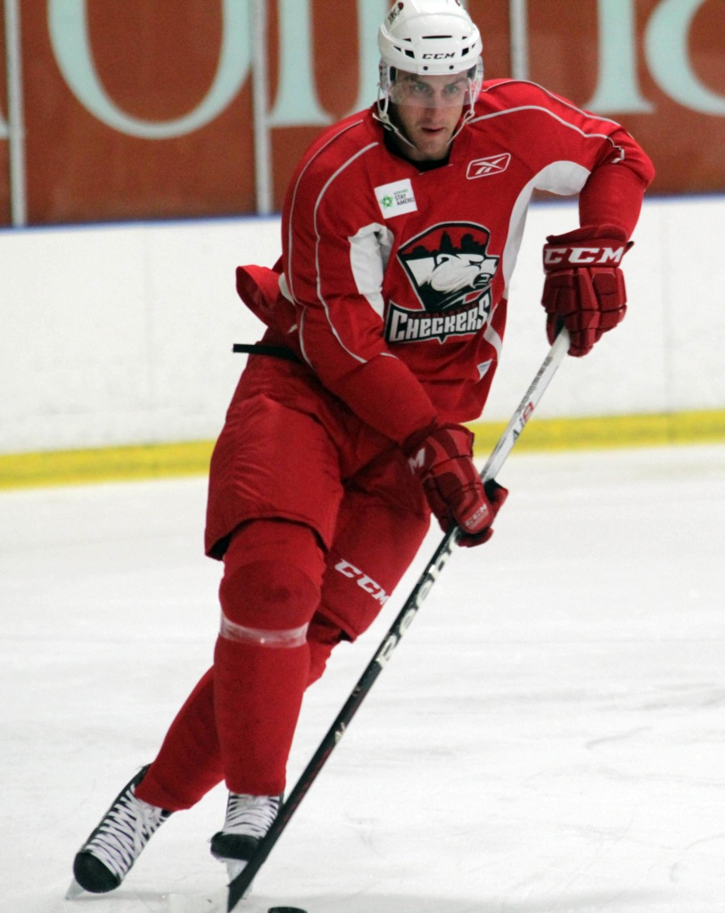 Sean Dolan returns for his third season with the Checkers. (Photo - J. Propst)
