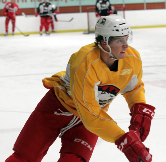 Rookie forward Kyle Bonis. (Photo - J. Propst)
