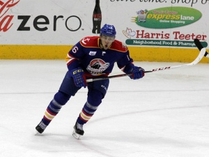 Emerson Etem's game tying goal for the Norfolk Admiralsled to his team facing the Charlotte Checkers in overtime. (Photo - J. Propst)