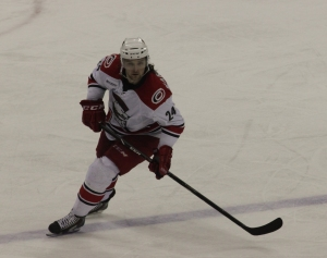 Matt Marquardt had a goal and an assist for the Charlotte Checkers. (Photo - J. Propst)